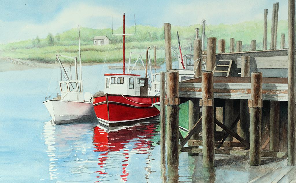 Boats at Rock Harbor