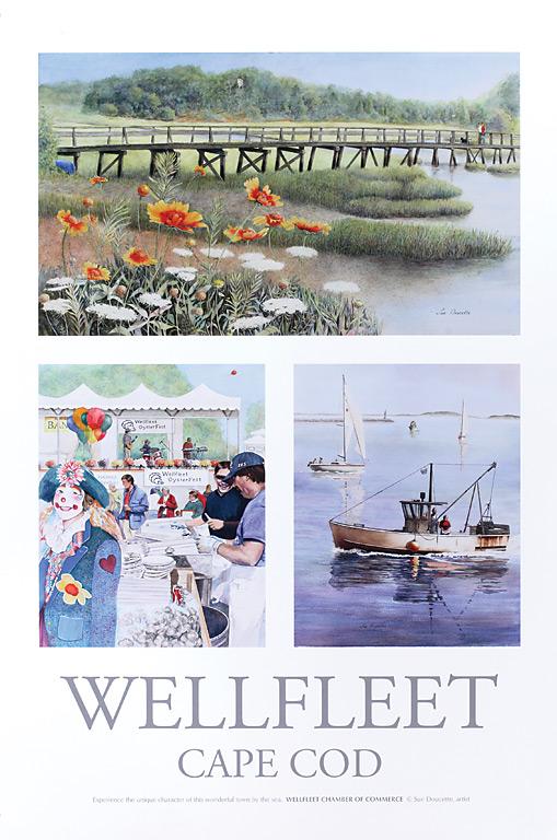wellfleet Chamber of Commerce print